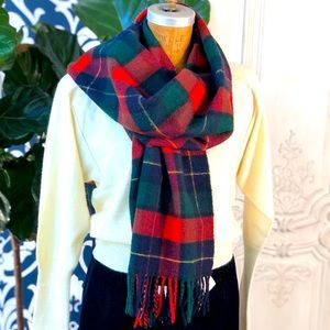 Vintage Ralph Lauren Blanket Scarf